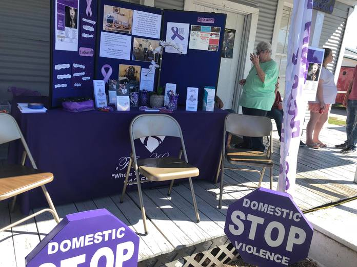 Fair Haven Stop Domestic Violence display