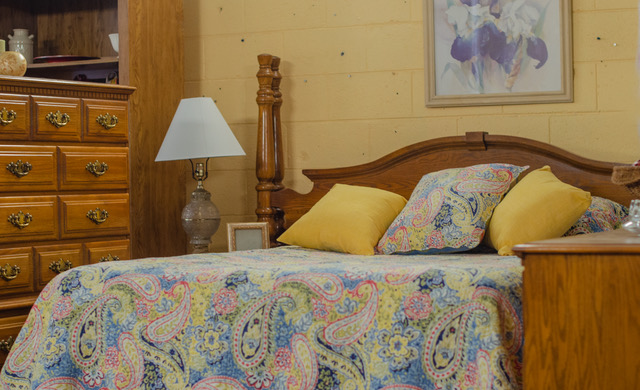 Fair Haven bed and furniture